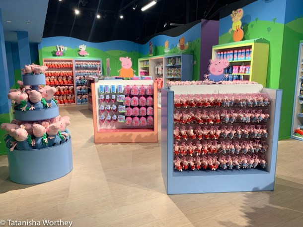 Peppa Pig World Of Play gift shop