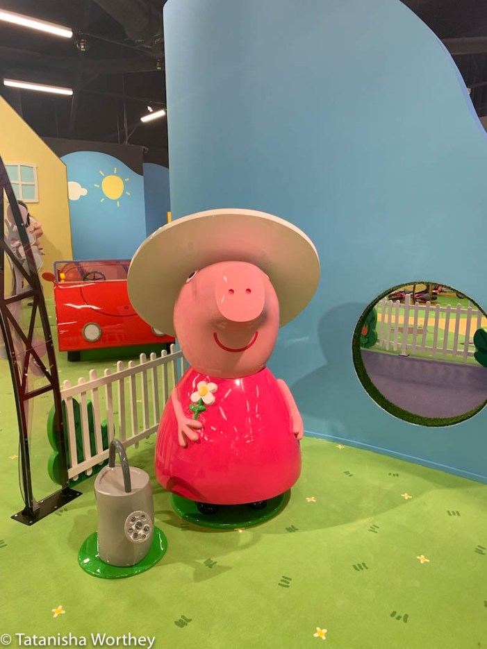 What is the age range for Peppa Pig World Of Play?