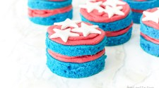 Red White and Blue Desserts Mini Cakes Recipe