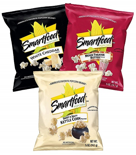 Amazon Deal 40ct Smartfood Popcorn Variety Pack 11 23 Or Less Fresh Outta Time