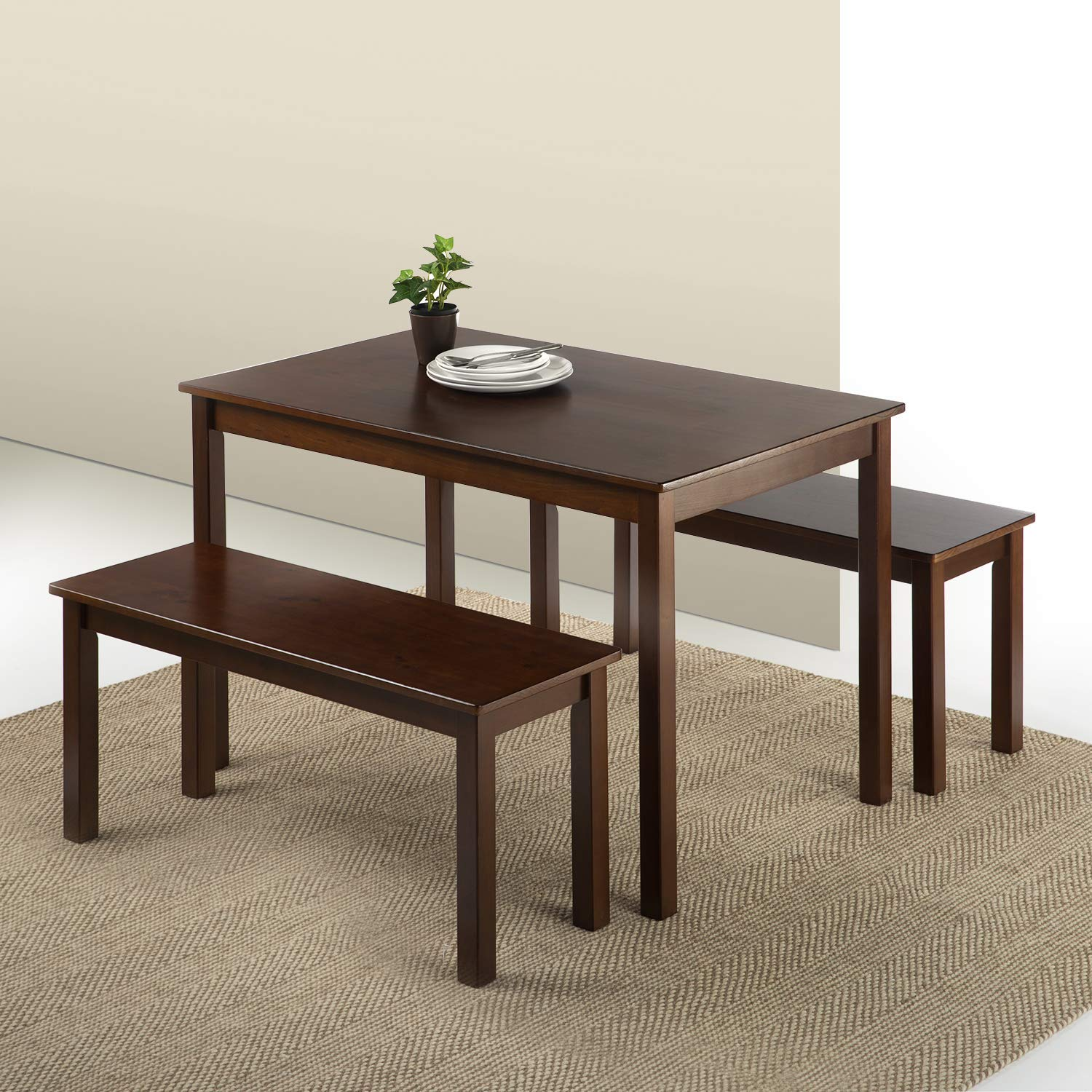 Dining Table Set Deals: Amazon Deal: Zinus Juliet Espresso Wood Dining Table Set
