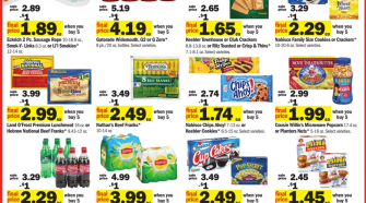 Buy 5 Mix or match sale at Meijer