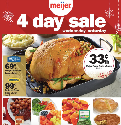 Meijer 4-Day Weekend Sale