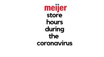new meijer store hours