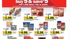Meijer Bake Sale- Buy 5, Save $5 Instantly 11/29-12/5/2020