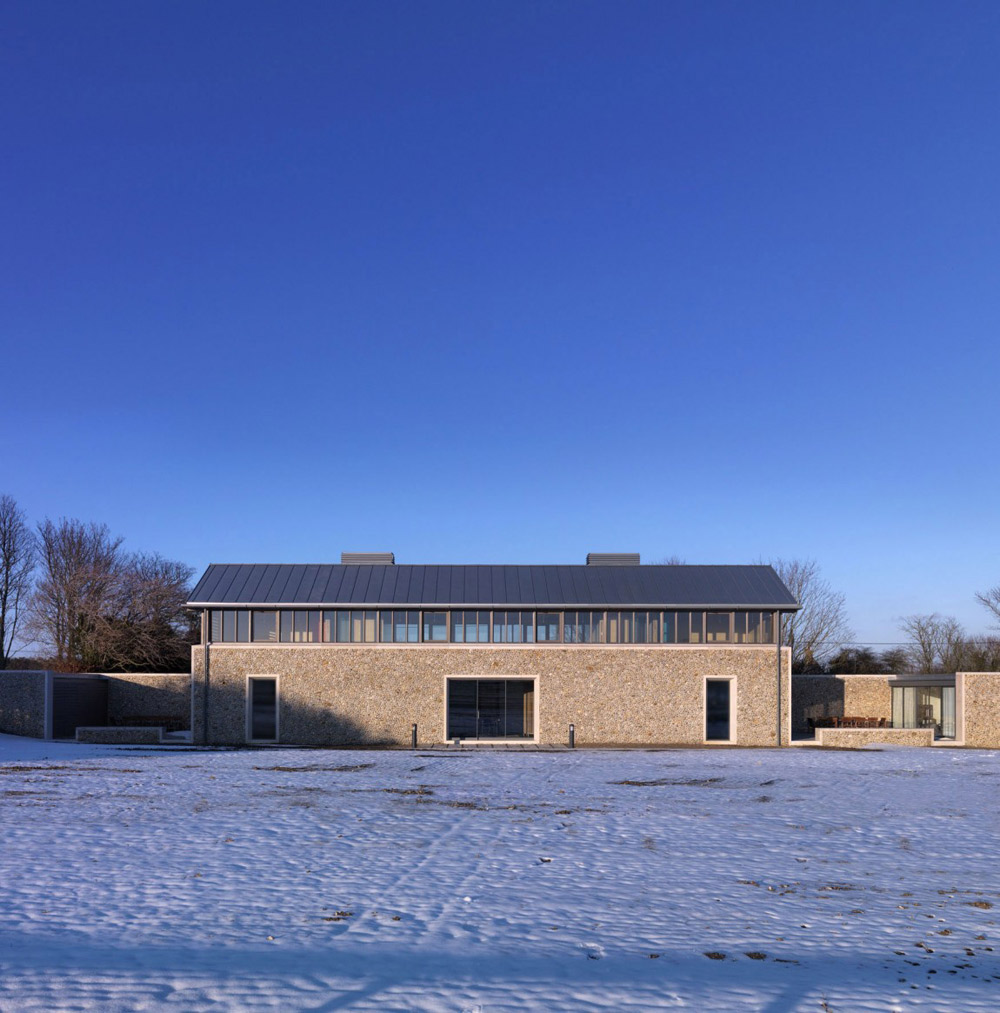 The Long House Norfolk UK By Hopkins Architects
