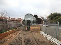 Construction, Cloud House, Melbourne by McBride Charles Ryan
