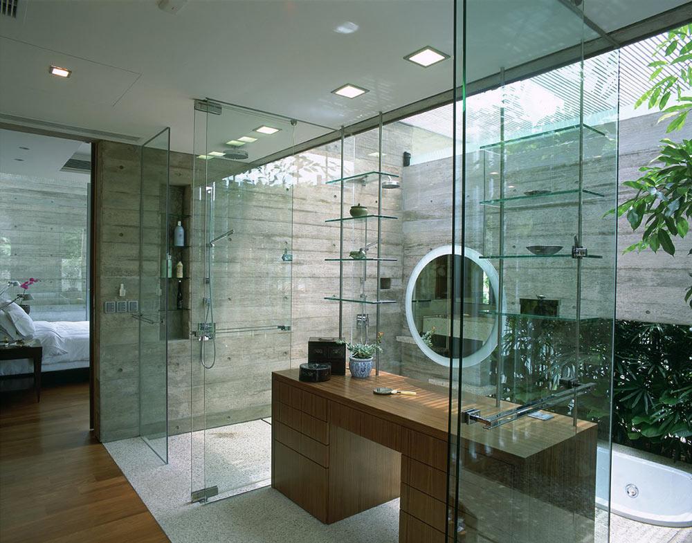 Bathroom Sunken Bath Sunset Vale House Singapore By Wow