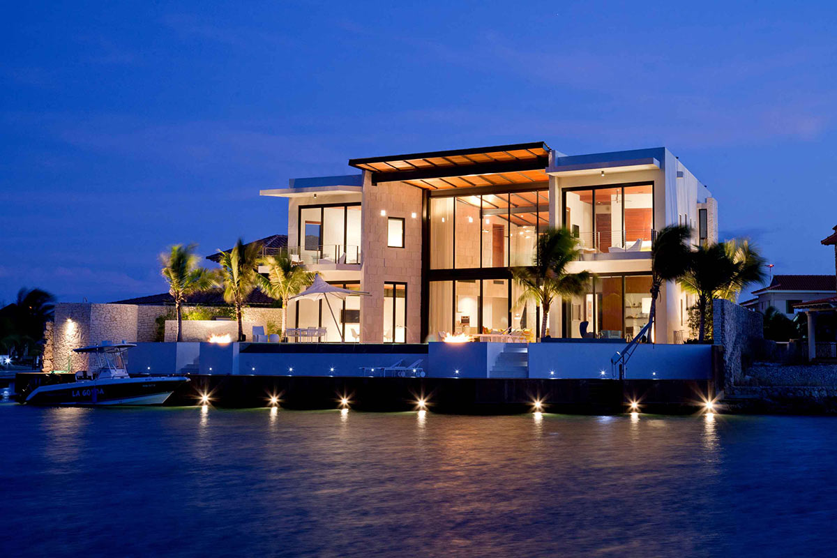 Modern Waterfront Home Bonaire The Netherlands Antilles