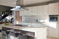 Kitchen, Island Breakfast Table, House Aboobaker, Limpopo