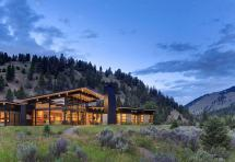 River Bank House Montana Balance Associates Architects
