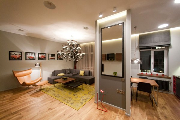 One Bedroom Apartments Interior Design Ideas