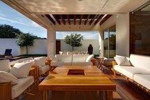 pergola outdoor living space