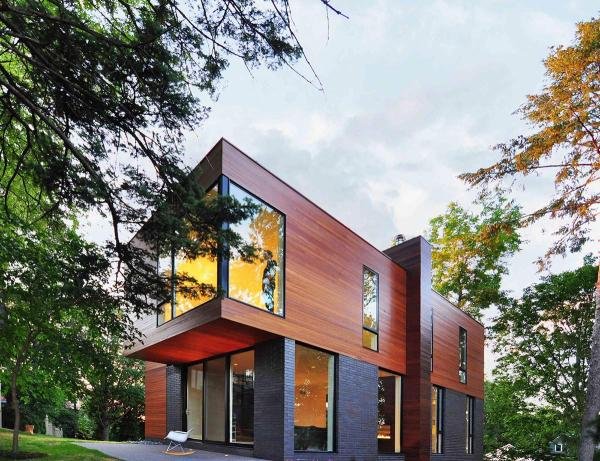 Compact Contemporary Family Home In Madison Wisconsin