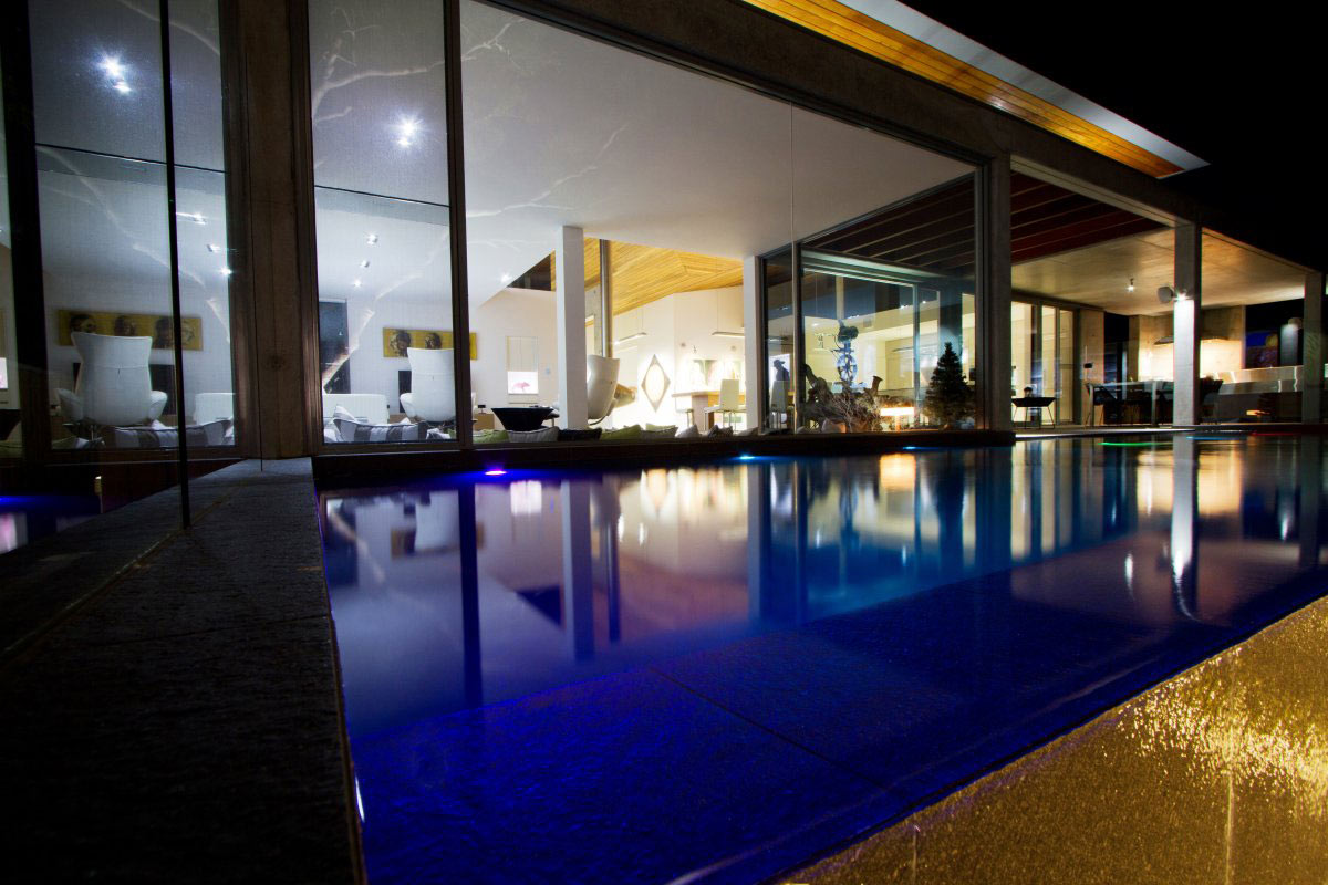 Swimming Pool, Lighting, The 24 House in Dunsborough, Australia