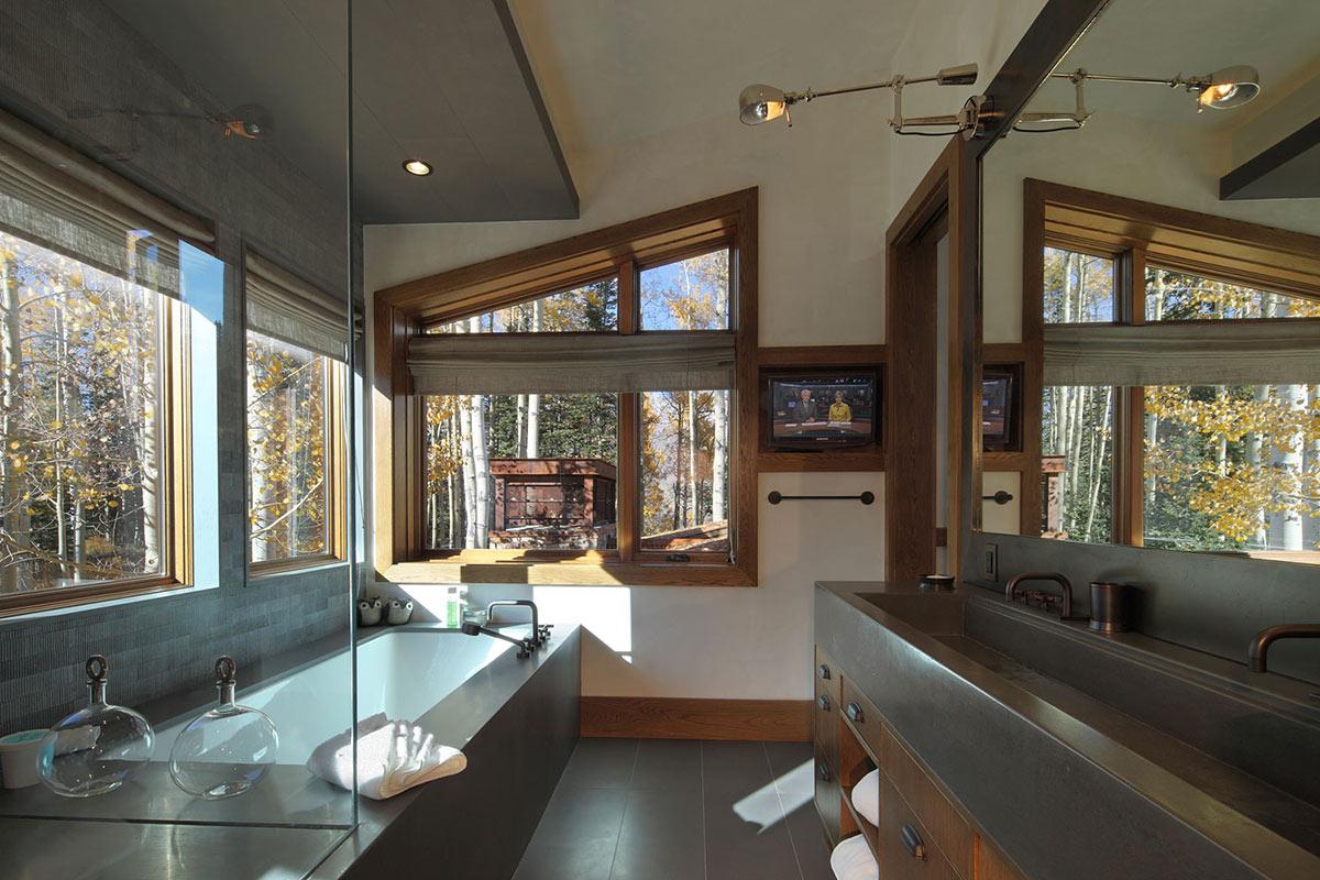 Delightful Log Cabin in Telluride, Colorado by TruLinea
