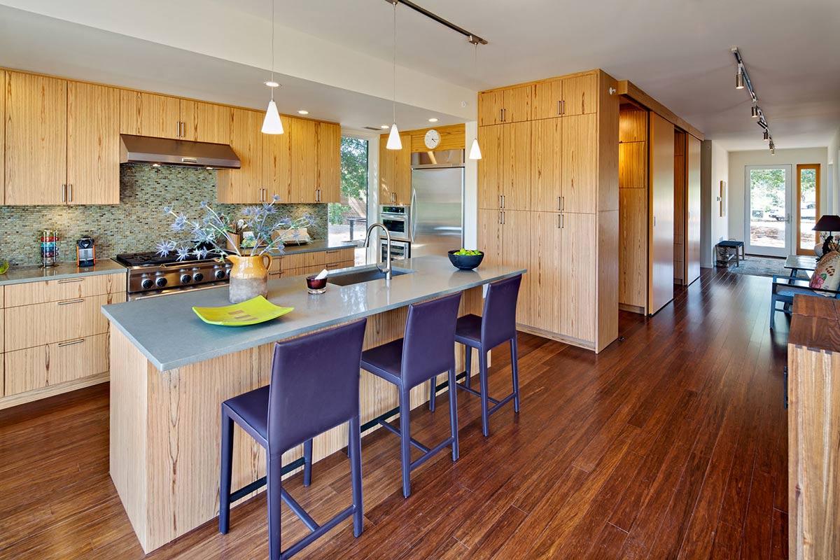 Kitchen Island, Breakfast Table, The Breezehouse in
