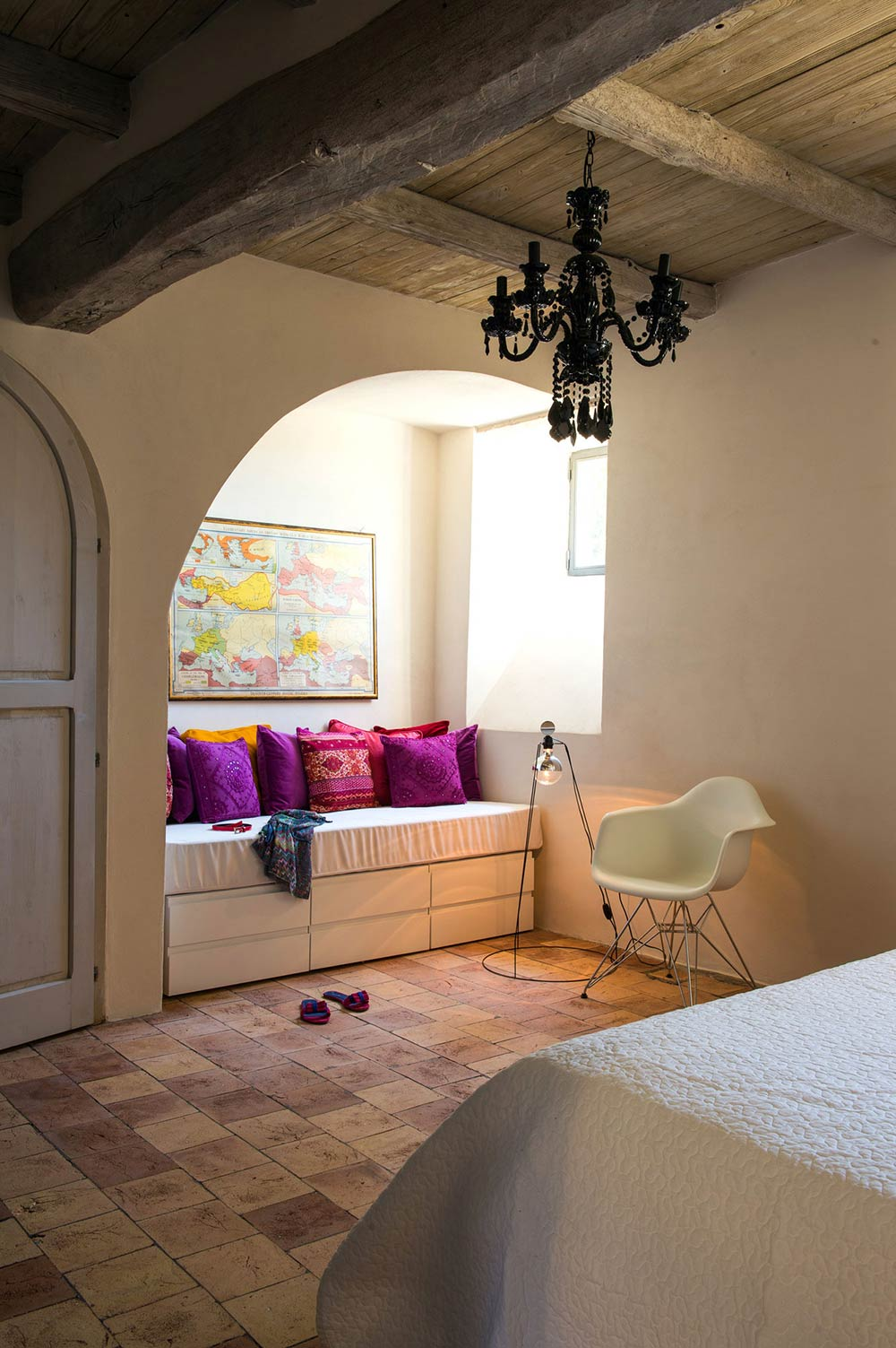 Stunning Renovation In Civita Di Bagnoregio Italy By Studio F