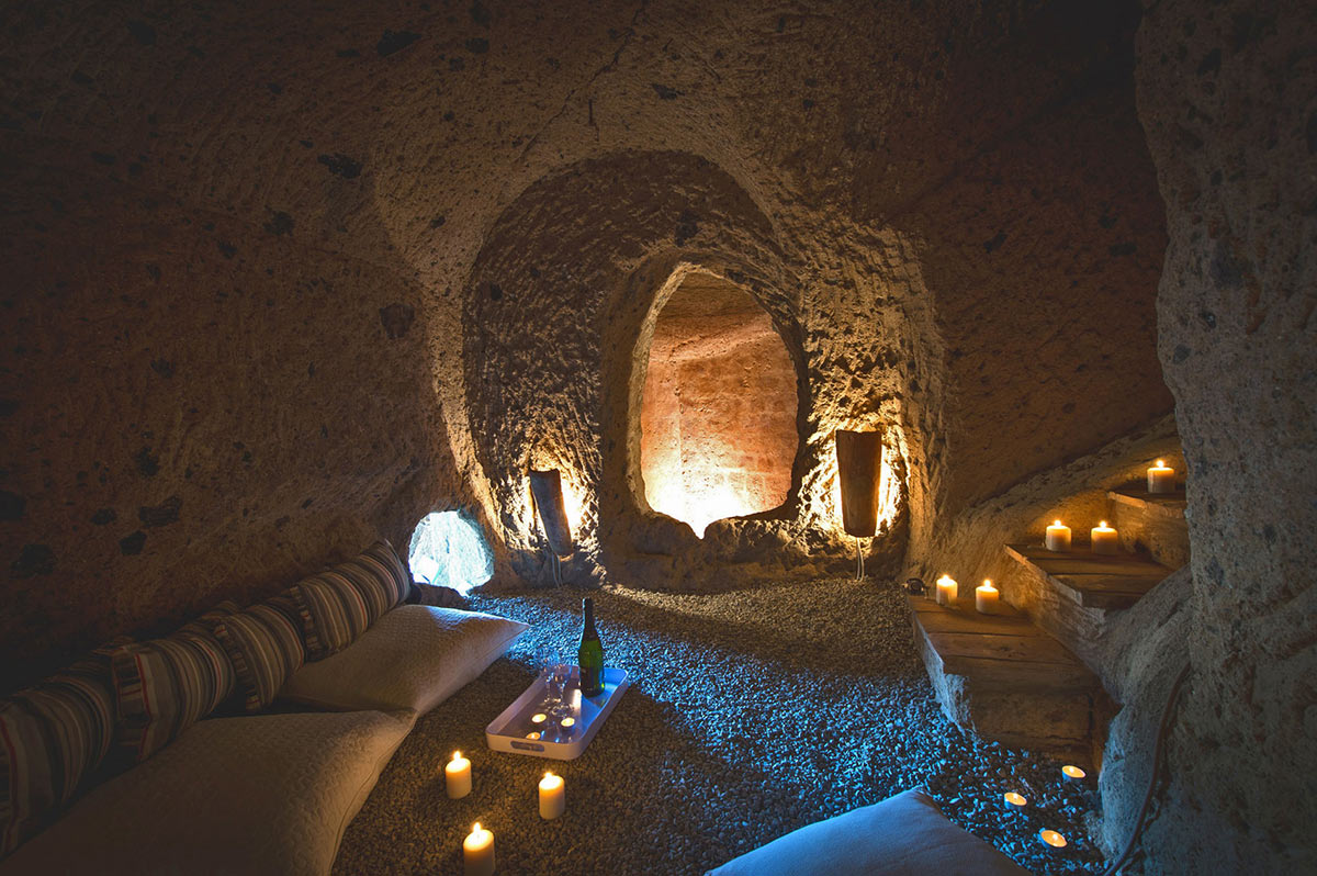 Underground Cave Living Space Stunning Renovation in