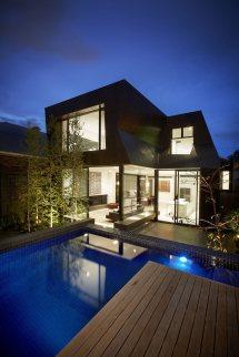 Modern Pool House Plans Designs