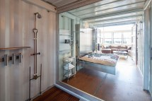 Shipping Container with Loft