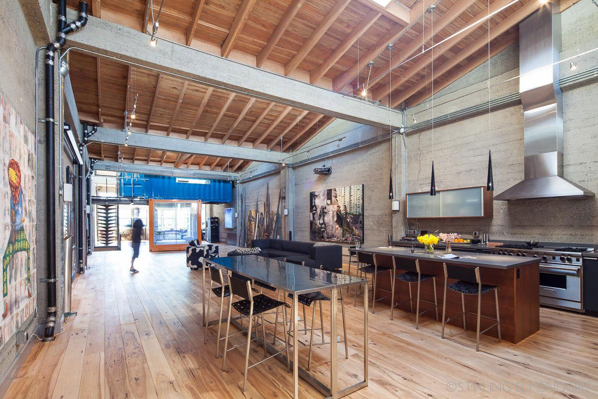 living room furniture for studio apartments ideas on a low budget sf loft in san francisco, california by wardell + sagan ...