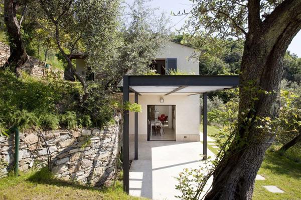 Farmhouse in Liguria Italy by A2BC Architects and