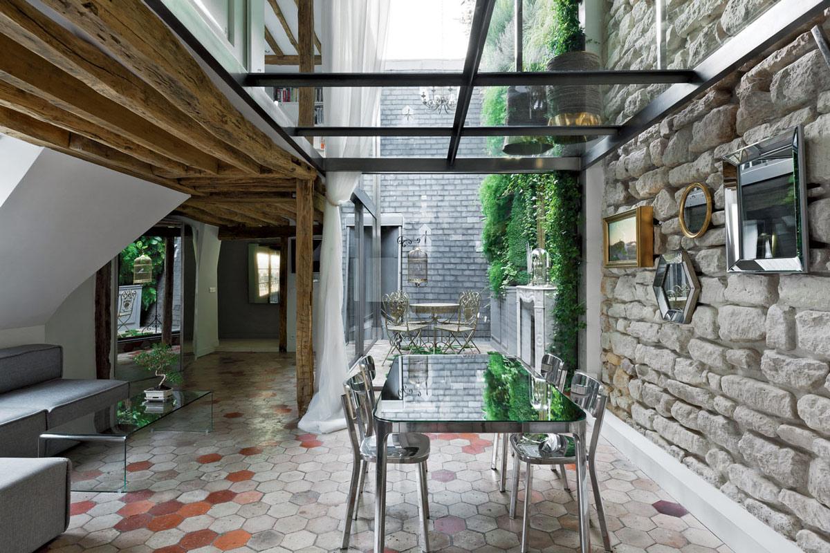 Best Kitchen Gallery: Stylish Two Floor Apartment In Paris France of Apartments In Paris France  on rachelxblog.com
