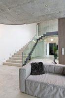 Stairs, Concrete Interior Design in Osice, Czech Republic