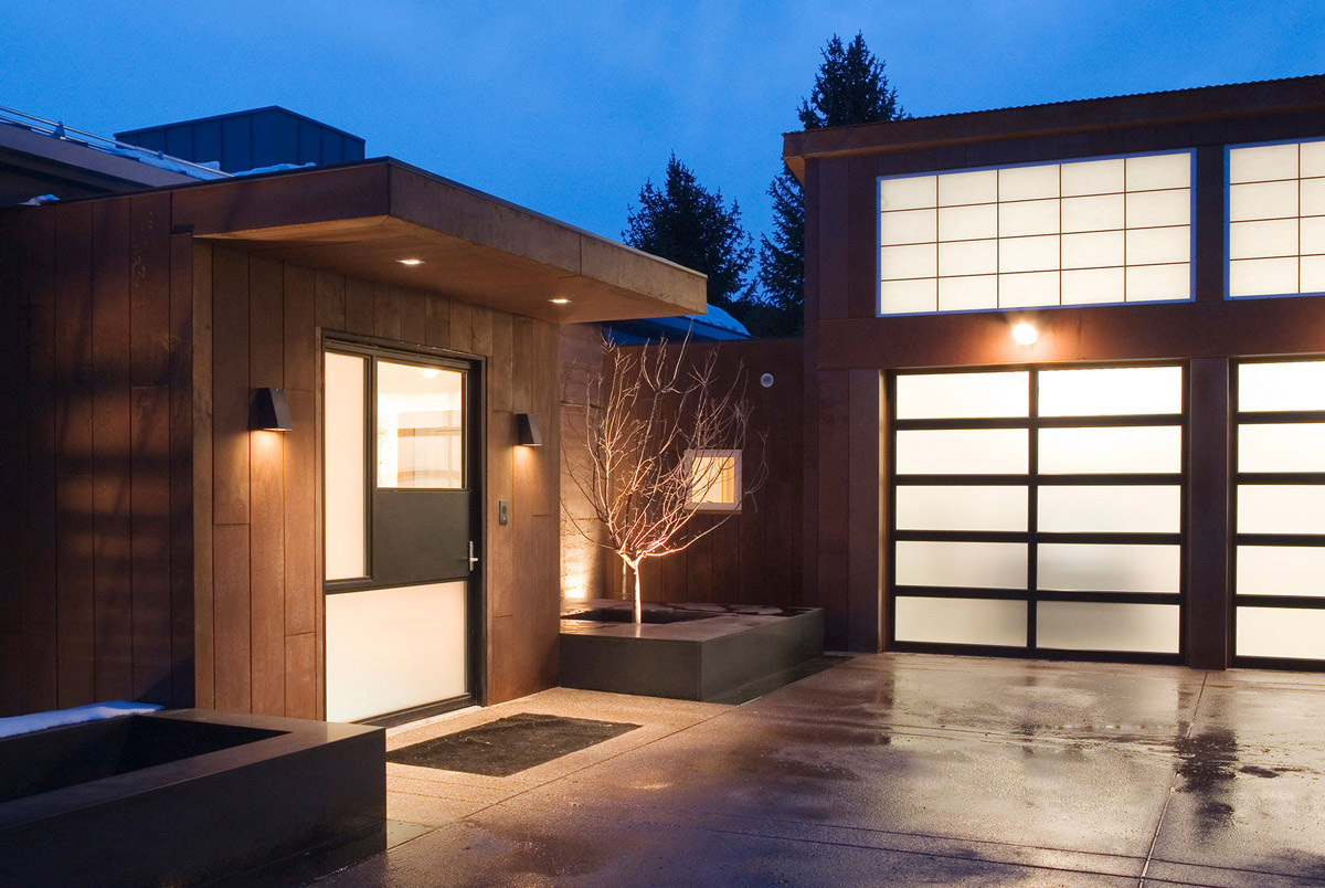 Modern Front Door Gardens Imposing Contemporary Home in Aspen Colorado  Fresh Palace