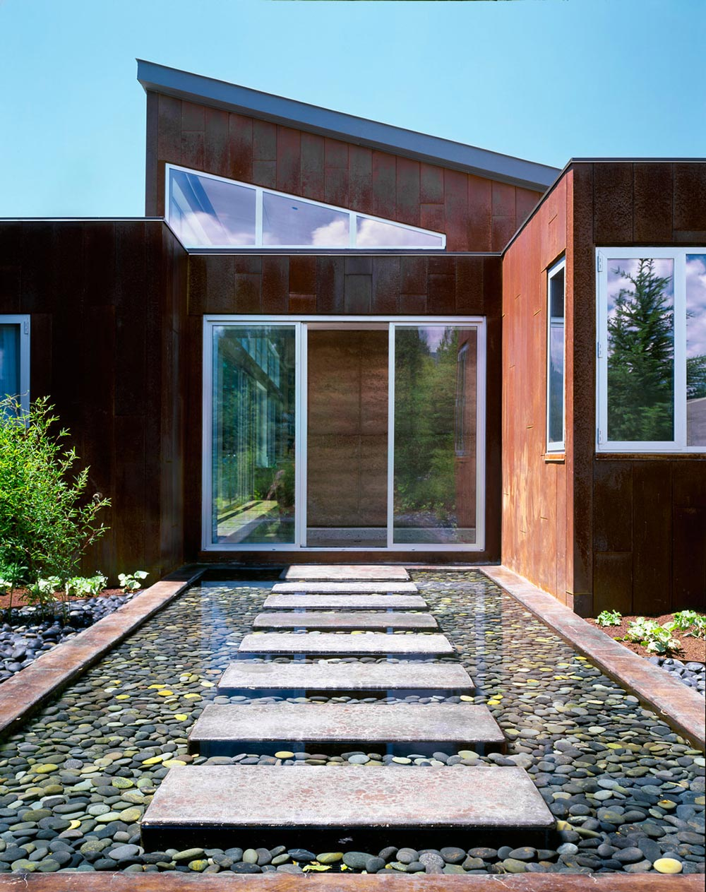 Modern Entrance Water Feature