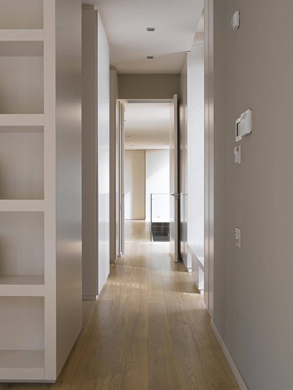 Hallway Contemporary Home In Monasterios Spain Fresh