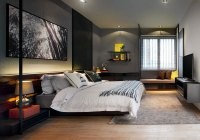 Grey Walls, Bedroom, Modern Townhouse in Kuala Lumpur ...