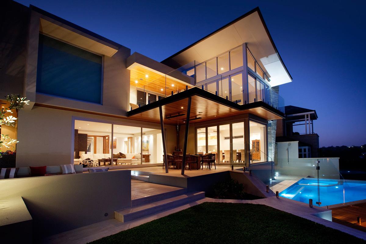 modern backyard by ritz exterior design l - terrasseenbois, Gartengerate ideen