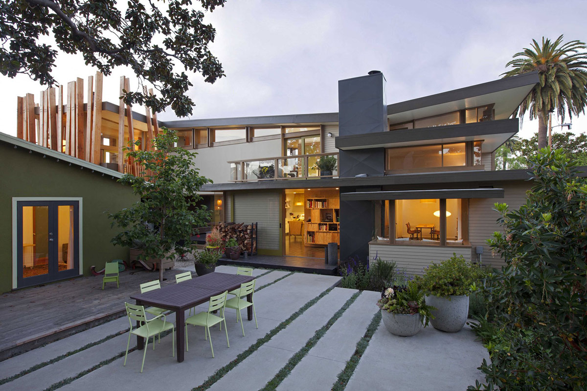 Wonderful Renovation And Addition In Venice California