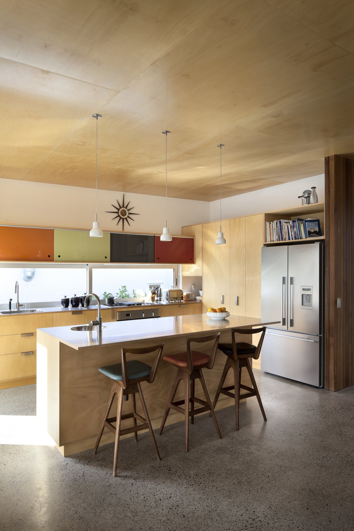 1950 60s Inspired Home In Auckland New Zealand