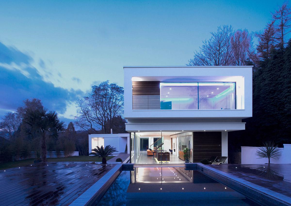 Best Kitchen Gallery: Eco Friendly Modern Home In Tandridge England of Eco Modern Homes  on rachelxblog.com