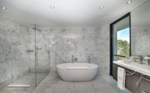 Luxury Bathroom Shower with Glass