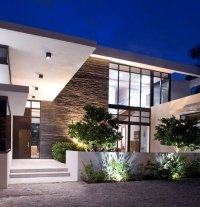 Elegant Modern Home in Golden Beach, Florida