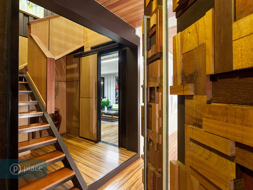 Stairs Shipping Container Home In Brisbane Queensland