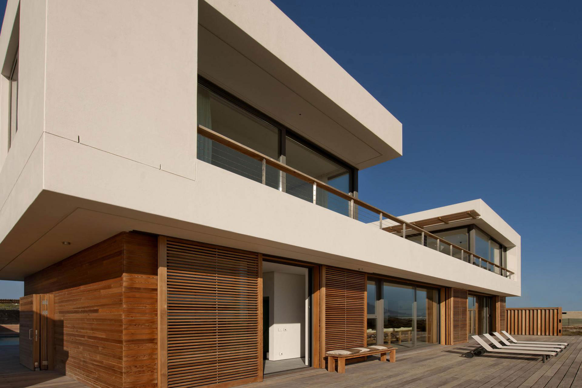 Wood Modern Beach House