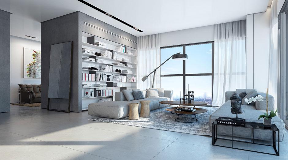 Elegant Apartment in the W Boutique Tower Tel Aviv