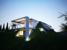 Contemporary Architecture Embracing Nature Earth House