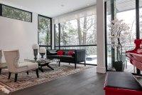 Piano, Living Room, Floor-to-Ceiling Windows, Sofa, Coffee ...