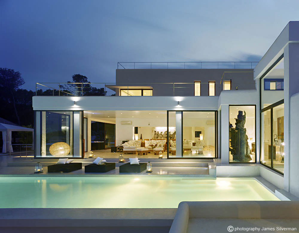 Rustic and Modern Design Elements Exceptional Villa in Ibiza