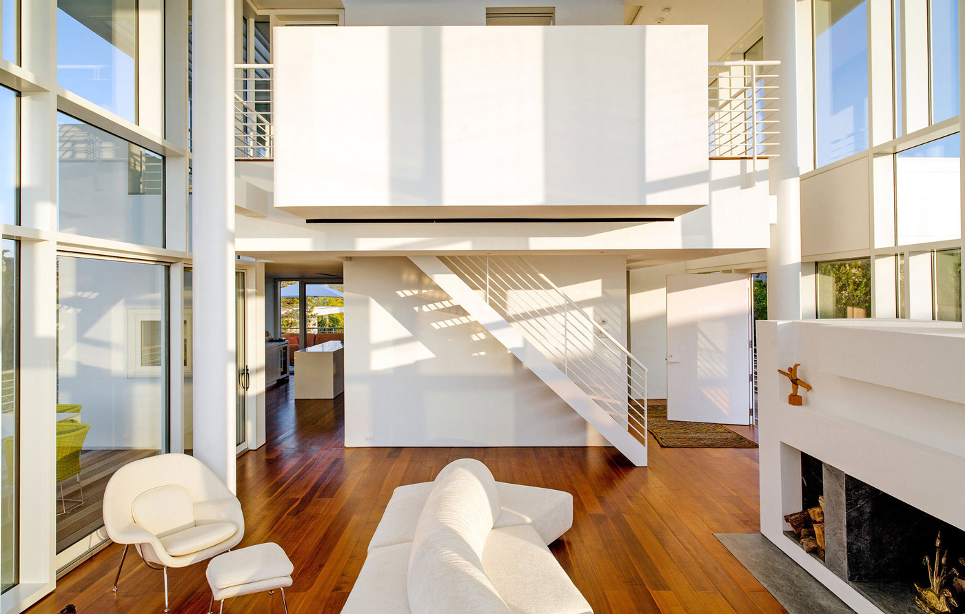 Fire Island House by Richard Meier