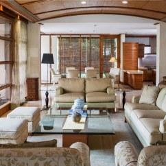Living Room Sofa Malaysia Corner Bed Dark Blue Balinese Style Home In Kuala Lumpur