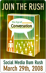 Join the Age of Conversation Bum Rush on January 5th