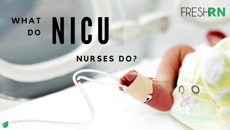 What Do NICU Nurses Do? – FRESHRN