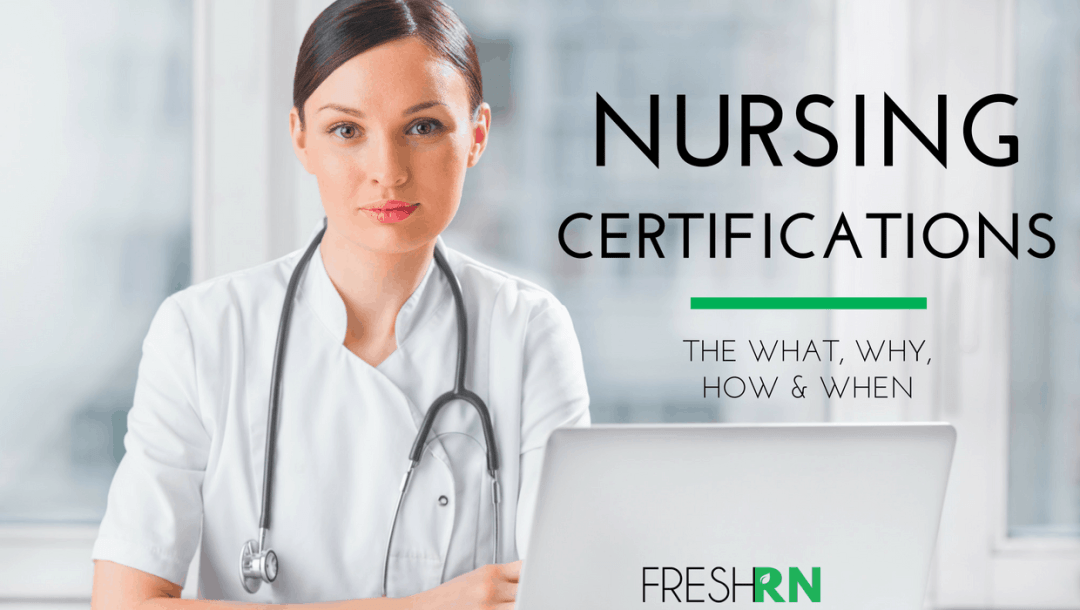 Season 3, Episode 2: Nursing Certifications: The What, Why, and When Show Notes